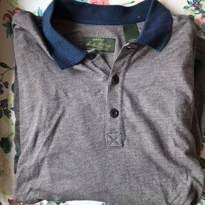 Orvis Mens long sleeve polo (signature collection)
